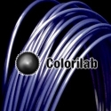 Filament d'imprimante 3D 1.75 mm ABS bleu foncé 7687C