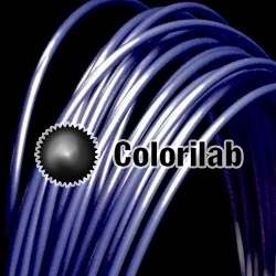 ABS 3D printer filament 2.85 mm dark blue 7687C