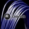 Filament d'imprimante 3D 2.85 mm ABS bleu foncé 7687C