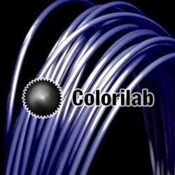 Filament d'imprimante 3D 3.00 mm ABS bleu foncé 7687C