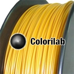 Filament d'imprimante 3D PLA 3.00 mm doré or 1245 C
