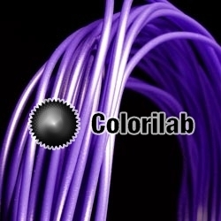 PLA 3D printer filament 1.75 mm close to blue-violet 2118 C