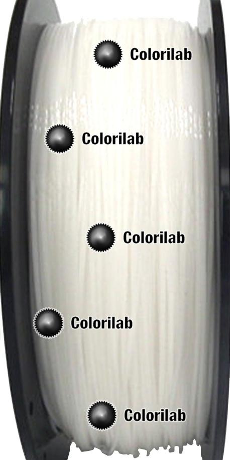 Filament d'imprimante 3D 3.00 mm HIPS nature