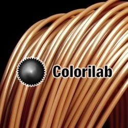 Filament d'imprimante 3D 1.75 mm ABS brun 4705C