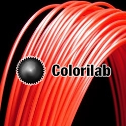 Filament d'imprimante 3D 3.00 mm HIPS rouge 185C
