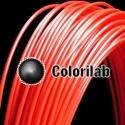 Filament d'imprimante 3D 3.00 mm HIPS rouge 185C