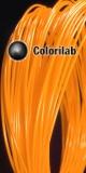 PLA 3D printer filament 1.75 mm close to orange 1495 C