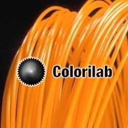 PLA-Flex 3D printer filament 1.75 mm close to orange 1495 C