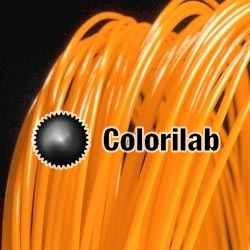 PLA-Flex 3D printer filament 3.00 mm close to orange 1495 C