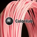 Filament d'imprimante 3D 3.00 mm PLA-Flex rose pâle 230C