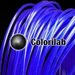 Filament d'imprimante 3D 3.00 mm PLA bleu 072C