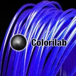 ABS 3D printer filament 1.75 mm close to blue 072 C
