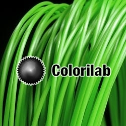 HIPLA 3D printer filament 3.00 mm green 7738C