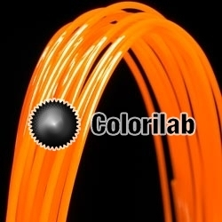 POM 3D printer filament 1.75mm orange 1505C