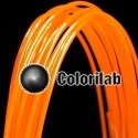 POM 3D printer filament 3.00mm orange 1505C