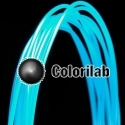 PLA 3D printer filament 1.75mm translucent blue 638U