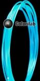 Filament d'imprimante 3D PLA 3.00 mm bleu translucide 638U