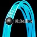 ABS 3D printer filament 1.75mm translucent blue 638U