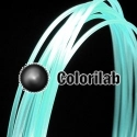 ABS 3D printer filament 3.00mm glow-little in the dark blue 630C