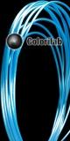 Filament d'imprimante 3D ABS 3.00 mm bleu fluo 2195C