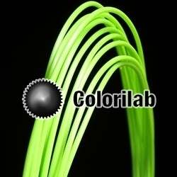 PLA 3D printer filament 1.75mm close to granny smith green 2285 C