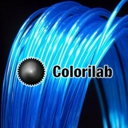 Filament d'imprimante 3D PC 1.75 mm bleu 2935C