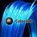Filament d'imprimante 3D PC 3.00 mm bleu 2935C