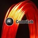 Filament d'imprimante 3D PC 1.75 mm rouge 485C