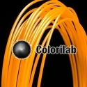 ABS 3D printer filament 1.75mm orange 2013C
