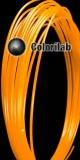 Filament d'imprimante 3D ABS 3.00 mm orange fluo 2013C