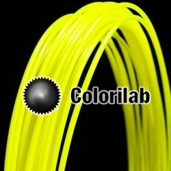 Filament d'imprimante 3D ABS 1.75 mm jaune fluo 389C