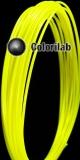 Filament d'imprimante 3D ABS 1.75 mm jaune fluo 389C