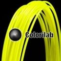 Filament d'imprimante 3D ABS 3.00 mm jaune fluo 389C