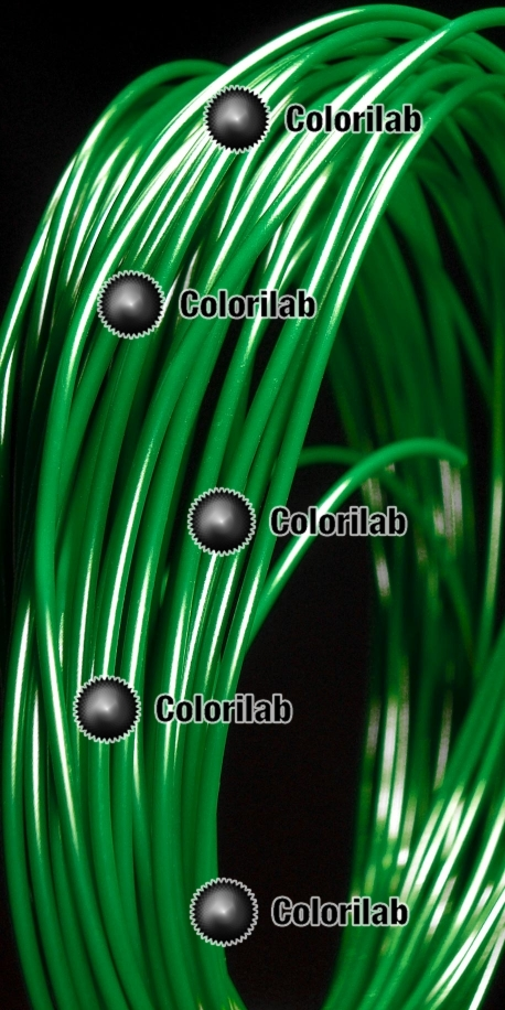 Filament d'imprimante 3D ABS 3.00 mm vert sapin 3425C