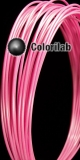 ABS 3D printer filament 1.75mm pink 231C