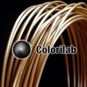 ABS 3D printer filament 1.75mm wood 1545C