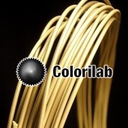 Filament d'imprimante 3D PLA 1.75 mm poudre laiton 10360C