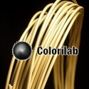 PLA 3D printer filament 3.00mm brass powder 10360C