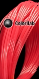 Filament d'imprimante 3D 1.75 mm PLA thermal changeant rouge 198 C