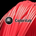 3D printer filament 3.00mm PLA thermal changing red 198C