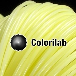 3D printer filament 3.00mm PLA thermal changing yellow 607C