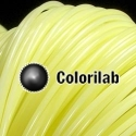 3D printer filament 1.75mm ABS thermal changing yellow 607C
