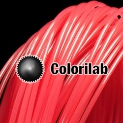 3D printer filament 1.75mm ABS thermal changing red 198C
