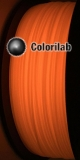 Filament d'imprimante 3D 3.00 mm PLA phosphorescent rouge