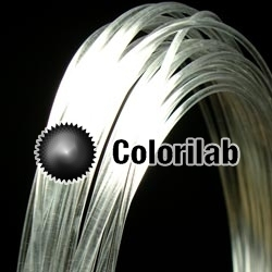Filament d'imprimante 3D 3.00 mm PVA transparent