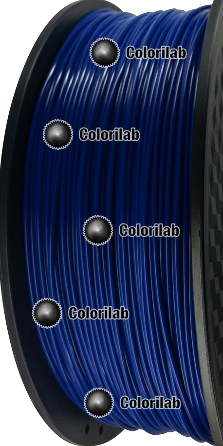 Filament d'imprimante 3D 1.75 mm PLA bleu 3 - 287C