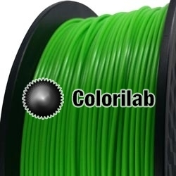 3D printer filament 1.75mm PLA green 2270C