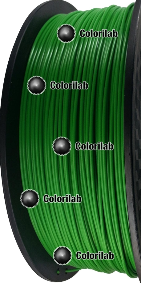 3D printer filament 1.75mm PLA green dark 7740C