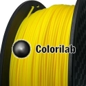 3D printer filament 1.75mm PLA yellow 107C