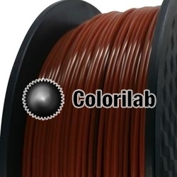 3D printer filament 1.75mm PLA brown 1615C